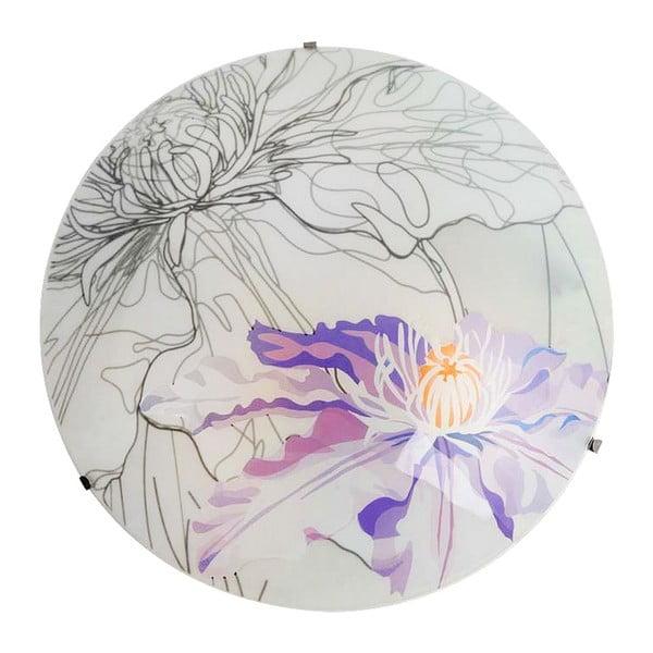 Lampa ścienna Violet Spring Round, 30 cm