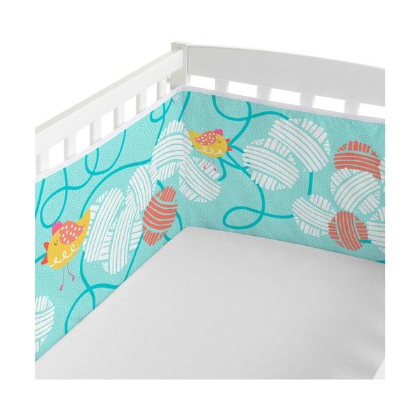 Ochraniacz do łóżeczka Cat&Mouse, 70x70x70 cm
