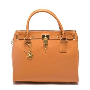 Skórzana torebka Roberta M 199 Cognac