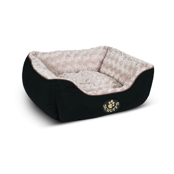 Legowisko dla psa Wilton Box Bed S 50x40 cm, czarne