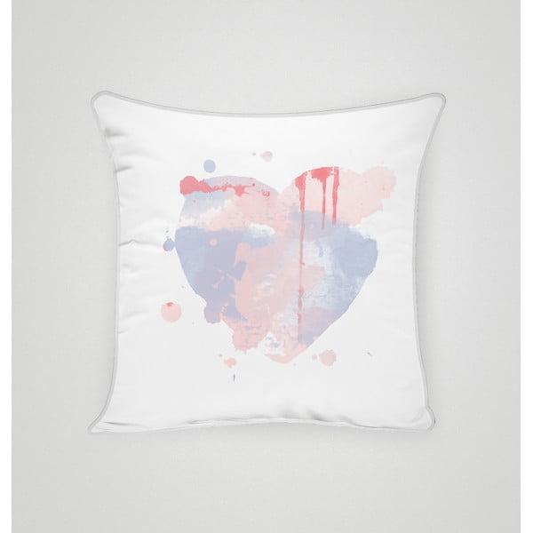 Poszewka na poduszkę Pastel Heart II, 45x45 cm