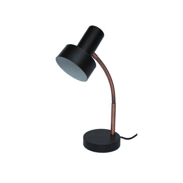 Czarna lampa stołowa Red Cartel Maxwell