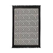 Beżowo-czarny dywan dwustronny Cihan Bilisim Tekstil Framed, 80x150 cm