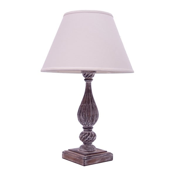 Lampa stołowa Antic Line Wood, 64 cm