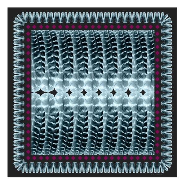 Wełniana chusta z dodatkiem kaszmiru Mimmi, 130x130 cm