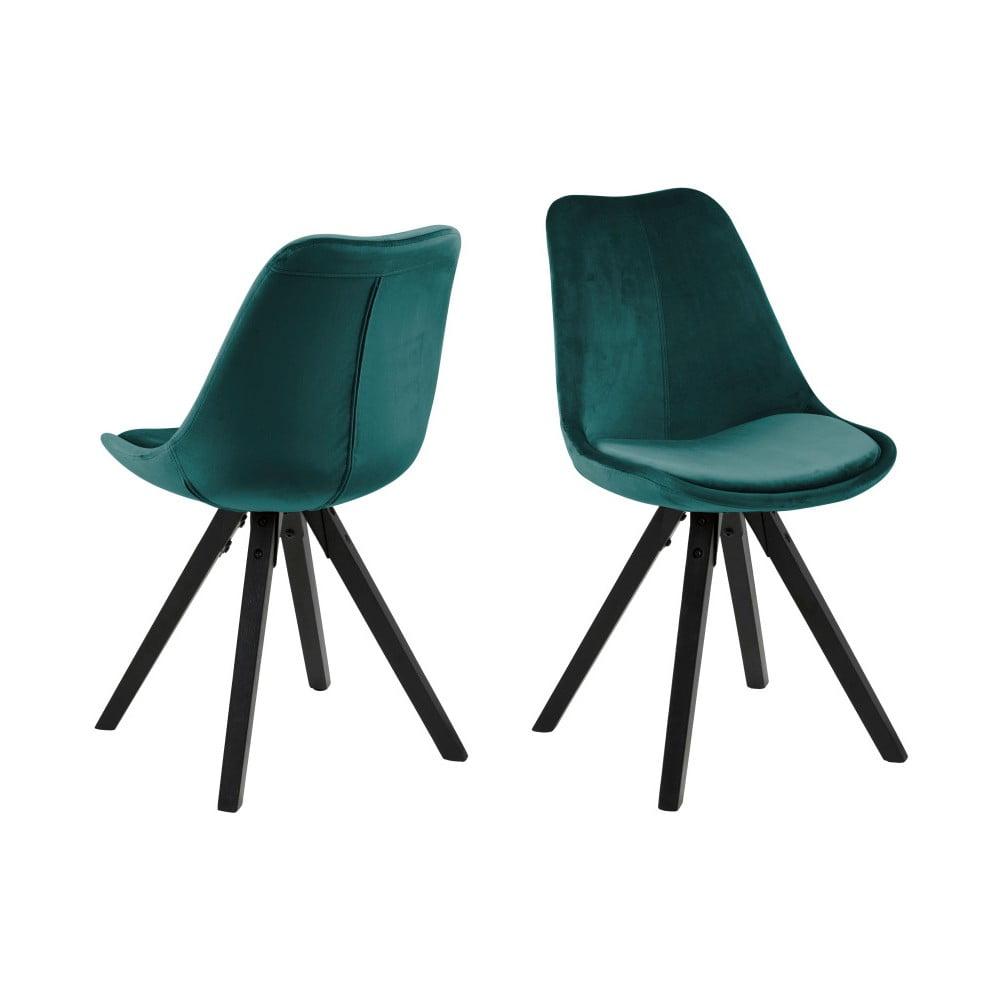 Zielone krzesło Actona Dima