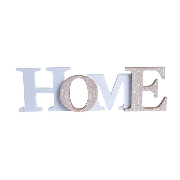 Dekoracyjny napis Home