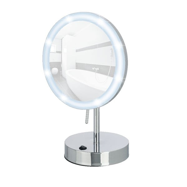 Lusterko ze światłem LED Aura