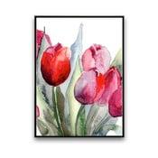 Plakat z tulipanami, 30 x 40 cm