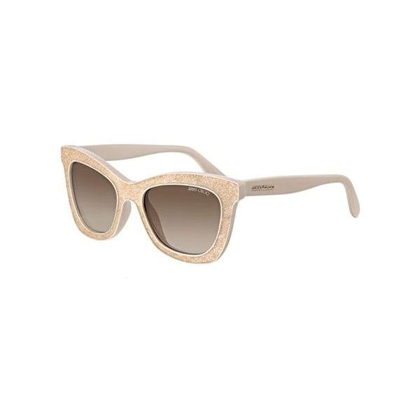 Okulary przeciwsłoneczne Jimmy Choo Flash Nude Gold/Grey