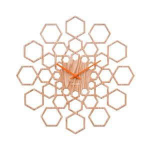 Drewniany zegar  Karlsson Sunshine Hexagon