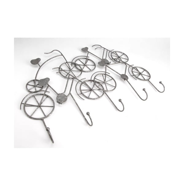 Metalowy wieszak Bikes