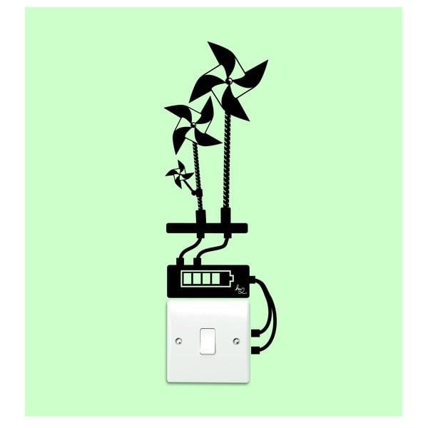 Naklejka 3 WindMills Light Switch