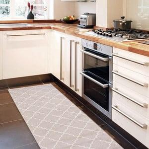 Wytrzymały dywan kuchenny Webtapetti Lattice Sand, 60x150 cm