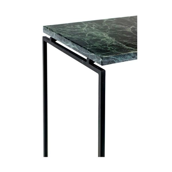 Zielony stolik z marmurowym blatem Serax Nero