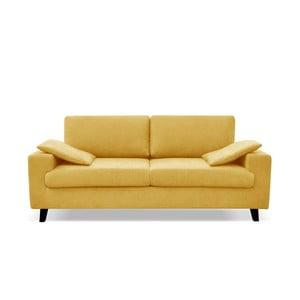 Żółta sofa 3-osobowa Cosmopolitan desing Munich