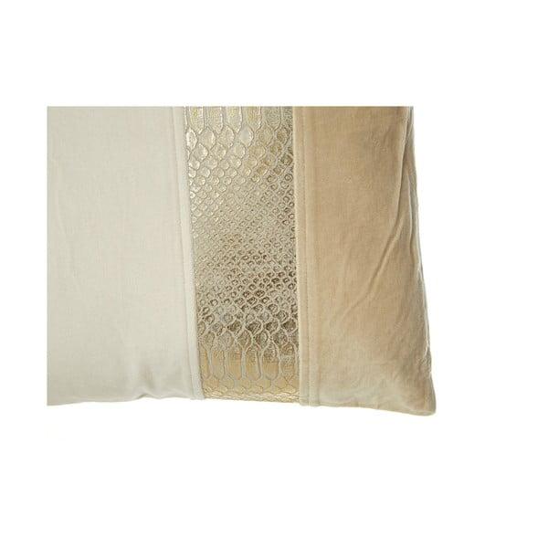 Poduszka Gold z efektem skóry węża 45x45 cm
