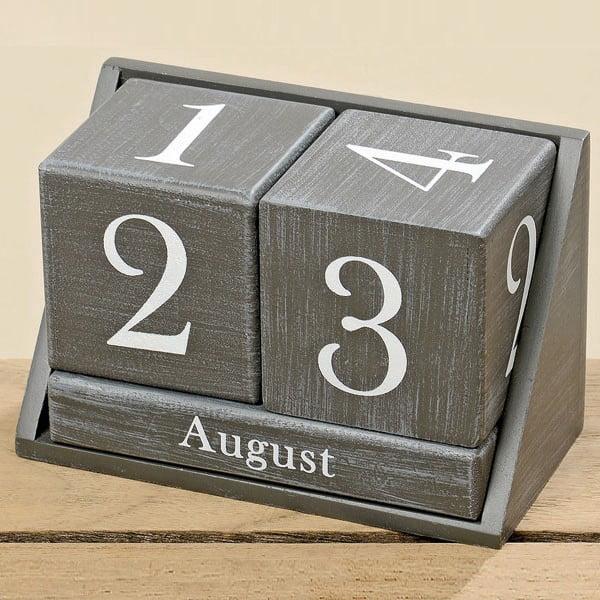 Kalendarz stołowy Gris