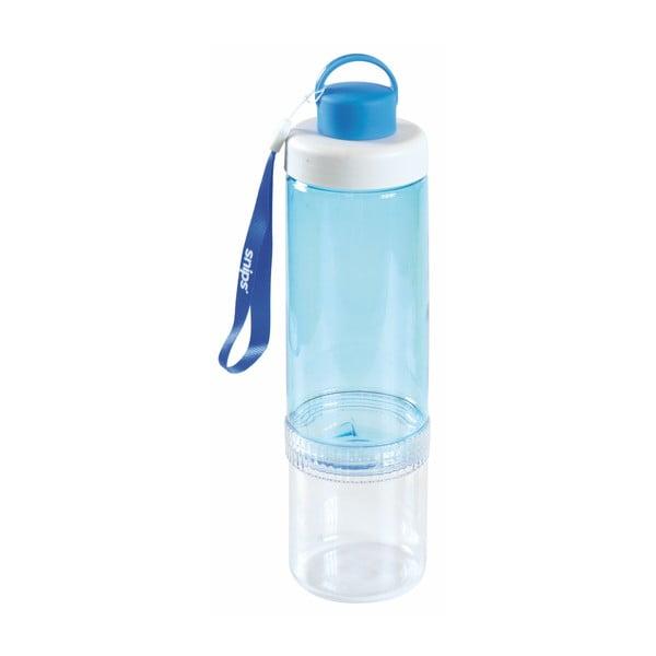 Niebieska butelka na wodę Snips Eat&Drink, 750 ml