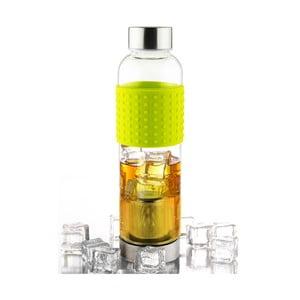 Zielona butelka na mrożoną herbatę Asobu IT2GO, 420 ml