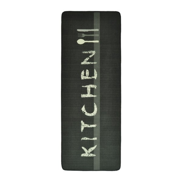 Szaro-brązowy dywan do kuchni HanseHomeKitchen, 67x180cm