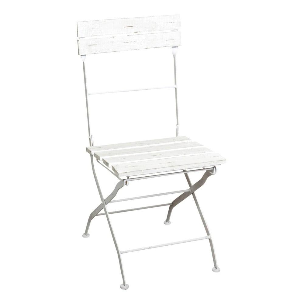 Białe Składane Krzesło Ogrodowe Crido Consulting Alisia Bonami