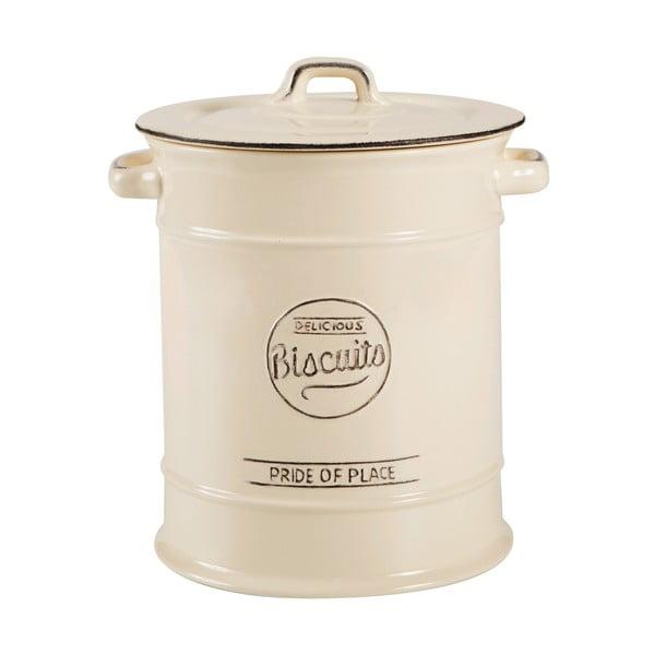 Kremowy pojemnik ceramiczny ciastka   T&G Woodware Pride Of Place