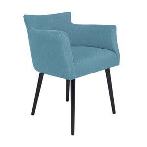 Jasnoniebieski fotel BSL Concept Adam