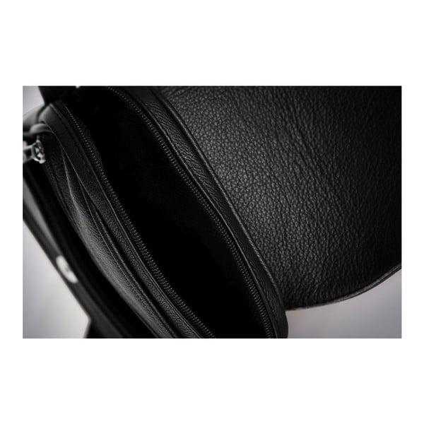 Torba męska skórzana Solier SL32, czarna