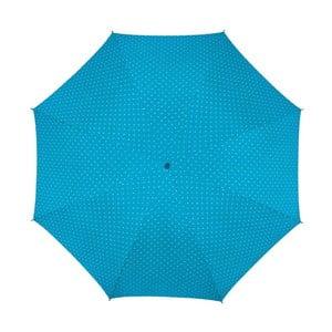 Parasol Ambiance Happy Rain Bleu