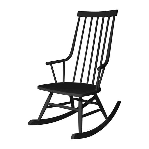 Fotel bujany Sena Black
