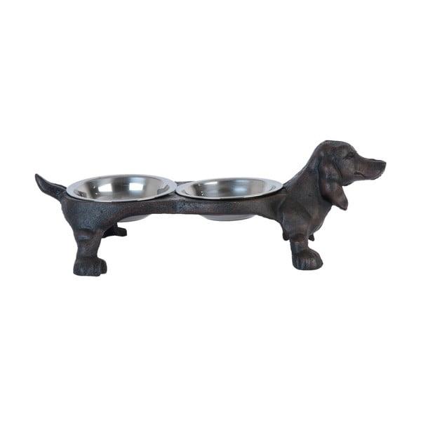 Zestaw misek dla domowego zwierzątka Clayre & Eef Sausage Dog
