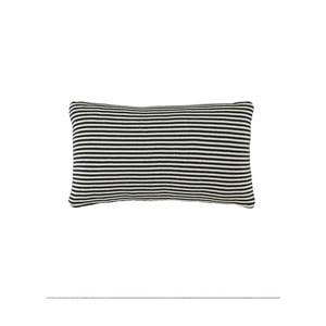 Czarna poduszka Marc O'Polo Arvid, 30x50 cm