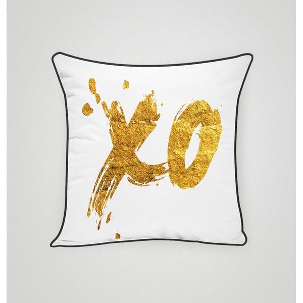 Poszewka na poduszkę XO Gold, 45x45 cm