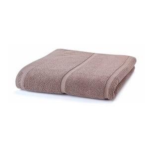 Szaro-brązowy  ręcznik Aquanova Adagio, 70x130cm