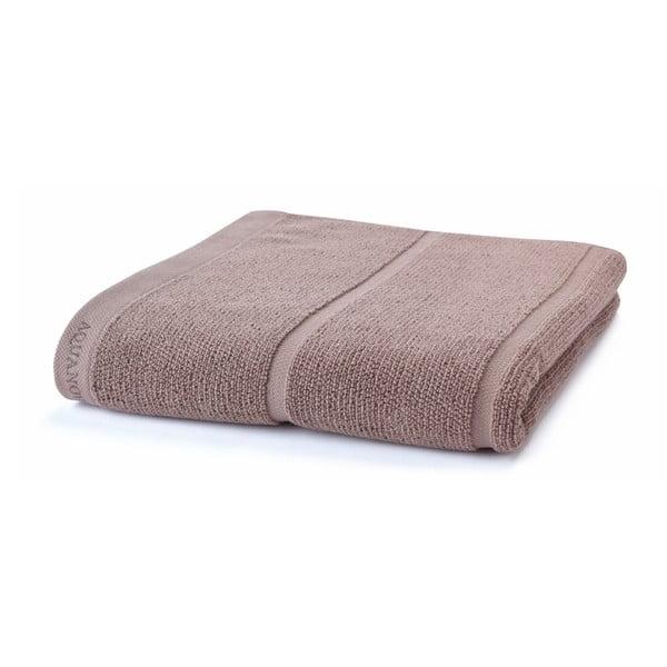 Szarobrązowy ręcznik Aquanova Adagio, 70x130cm