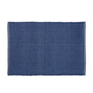 Ciemnoniebieska mata stołowa Södahl Grain, 33x48 cm