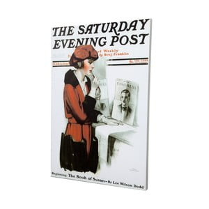 Obraz Saturday Evening Post, 50x70 cm