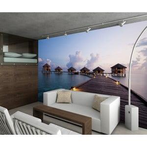 Tapeta wielkoformatowa  Malediwskie domki, 315x232 cm