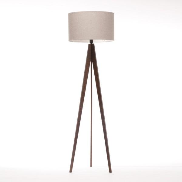 Lampa stojąca Artist Brown Grey Felt/Dark Brown, 125x42 cm