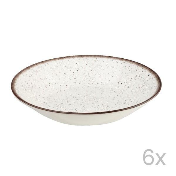 Zestaw 6 misek Bakewell Mint, 20 cm