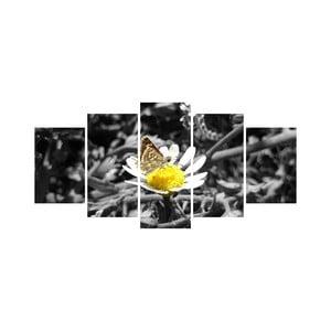 Wieloczęściowy obraz Black&White no. 62, 100x50 cm
