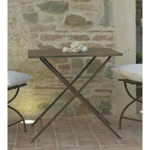 Metalowy stolik Garden, brązowy