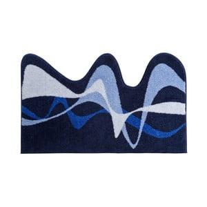 Dywanik łazienkowy Kolor My World XVIII 75x120 cm, niebieski
