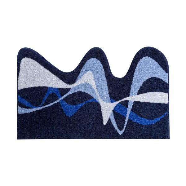 Dywanik łazienkowy Kolor My World XVIII 50x80 cm, niebieski