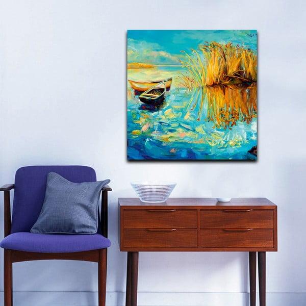 Obraz Wędkarze, 60x60 cm