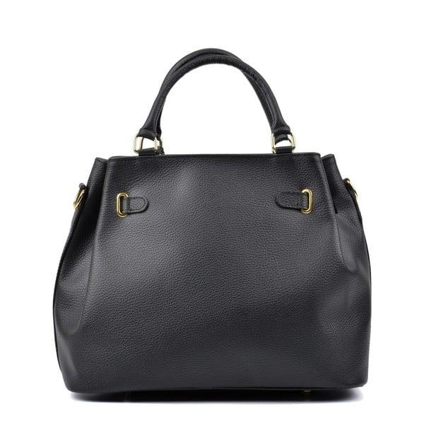 Czarna torebka skórzana Lupe