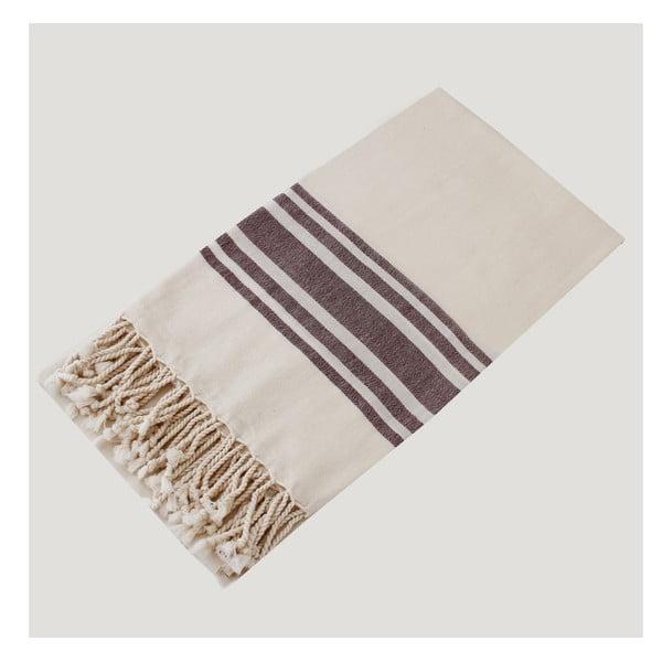 Ręcznik hammam Bath Style Bordeaux, 100x180 cm