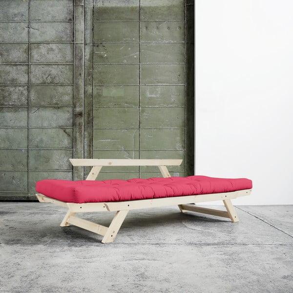 Sofa Karup Bebop Natural/Magenta