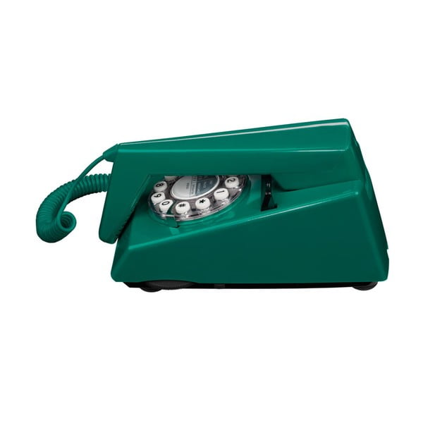 Telefon stacjonarny w stylu retro Trim Peacock Green
